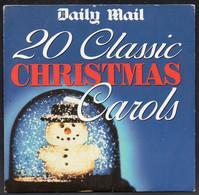 20 CLASSIC CHRISTMAS CAROLS [DAILY MAIL PROMOTIONAL PROMO CD 2004] VERY GOOD CONDITION XMAS SONGS MUSIC - Kerstmuziek