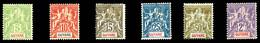N°43/48, Série De 1900, Les 6 Val TB  Qualité: *  Cote: 400 Euros - Unused Stamps