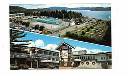ST. DONAT, Quebec, Canada, Manoir Des Laurentides, Chalets, Motel, Hotel, 1950-60's Cars, Old Chrome Postcard - Other