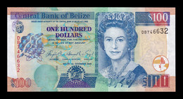 Belice Belize 100 Dollars Elizabeth II 2006 Pick 71b SC UNC - Belize