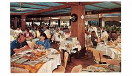 ST. DONAT, Quebec, Canada, Interior Of Restaurant, Manoir Des Laurentides, Chalets, Motel, Hotel, Old Chrome Postcard - Other