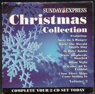 CHRISTMAS COLLECTION VOL. 2 [SUNDAY EXPRESS PROMOTIONAL PROMO CD 2004] VERY GOOD CONDITION XMAS SONGS MUSIC CAROLS - Kerstmuziek