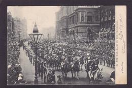 CPA Inde Procession Maharajas Circulé - Inde