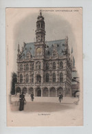 REF2281/ CP Exposition Universelle 1900 (PARIS) Bâtiment Représentant La Belgique Animée - Exhibitions