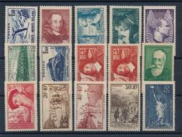 P-236 FRANCE: Lot  Avec N°334/347**-352** - Unused Stamps