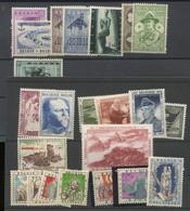 Séries De 1957. Postfris. Sans Charnière Cote 56-€ - Unused Stamps