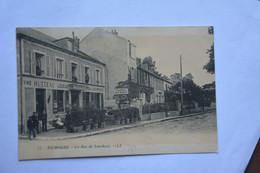NEMOURS-la Rue De Larchant-maison Hutteau-tabac-pub Dubonnet - Andere Gemeenten