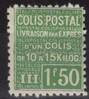 COLIS POSTAUX N° 68 Neuf* Avec Trace De Charnière Légère. Bas Prix à Saisir. - Nuovi