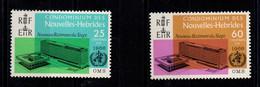 Nouvelles Hebrides - YV 245 & 246 N** Legende Française Complete OMS - Unused Stamps