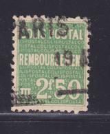 FRANCE COLIS POSTAUX N° 170 ° Timbre Oblitéré, B/TB - Usados