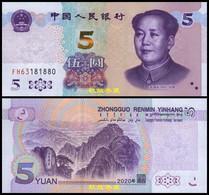 China 5 Yuan/RMB, (2020), Paper, UNC - China