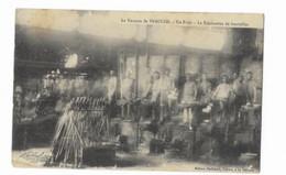Veauche - La Verrerie De Veauche - Un Four - La Fabrication De Bouteilles - Edit. Badinand - - Altri Comuni