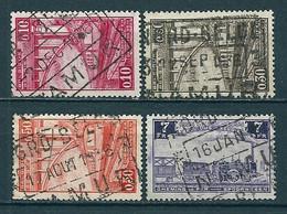 TR 178 + 180 + 182 + 193 Gestempeld NORD BELGE - NAMUR - North Of Belgium