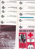 Lot De 13 Feuilets De La Poste De L Annee 1979 Avec Timbres Oblitération Premier Jour - Documents De La Poste