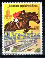 Benin 1980 - Sport Equestri Equestrian Sports MNH ** - Benin – Dahomey (1960-...)