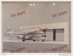 Au Plus Rapide Beau Format 18 Par 24 Cm Photo AMD CMM 8 Mai 1972  Super Guppy Airbus Industrie Aéromaritime - Aviación