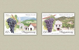 Hungary 2003. The Famous Wein Locations Of Hungary Nice Set MNH (**) Michel: 4801-4802 - Unused Stamps