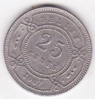 Belize. 25 Cents 2007. Elizabeth II, En Cupronickel. KM# 117 - Belize