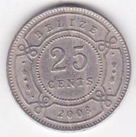 Belize. 25 Cents 2003. Elizabeth II, En Cupronickel. KM# 117 - Belize