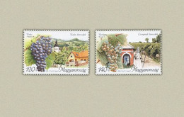 Hungary 2005. Wein - Drinks Set MNH (**) Michel: 5036-5037 - Unused Stamps