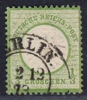 BRUSTSCHILD Nr.17a Sauberer K2 BERLIN. Geprüft Sommer BPP (ch20) - Gebruikt