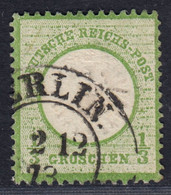BRUSTSCHILD Nr.17a Sauberer K2 BERLIN. Geprüft Sommer BPP (ch20) - Gebraucht