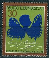 BRD - Mi 978 - ** Postfrisch (A) - 30Pf                   Clemens Brentano - Nuevos