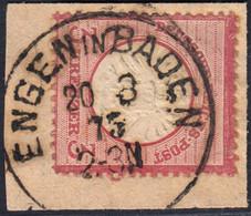BRUSTSCHILD Nr.25 Saubere K1 ENGEN IN BADEN (ch20) - Gebruikt