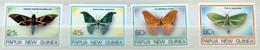 PAPUA & NEW GUINEA Papouasie & Nouvelle-Guinée 716 à 719 ** MNH Papillon Nuit Butterfly Schmetterling (CV 6 €) - Papua Nuova Guinea