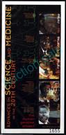 Palau Palaos 2000 **MNH Biology Genetics DNA Biologie Genetik Génétique ADN Nobel Laureate (1) - Nature