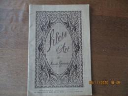 FILETS D'ART DE MADEMOISELLE LAJOURDIE 1924 - Do-it-yourself / Technical