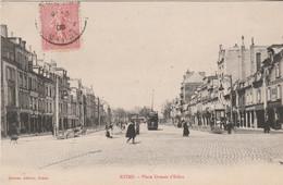 N°8062 R -cpa Reims -place Drouet D'Erlon- - Reims