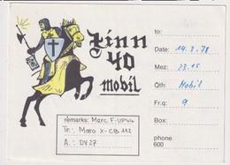 QSL Card - AK 386433 Germany - Frankfurt - Harheim - CB