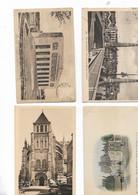 Lot De 4 Cartes Postal - Saint Quentin