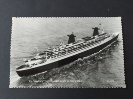 Paquebot - SS France, The Longest Liner In The World - Paquebote