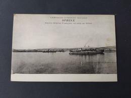 Bateau - Paquebot - SPHINX - Navire Hôpital Français, En Rade De Milo, Campagne D'Orient 1914-1917 - Passagiersschepen