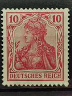 Deutsche Reich Mi-Nr. 86 L A MNH Postfrisch KW-60€ Geprüft - Unused Stamps