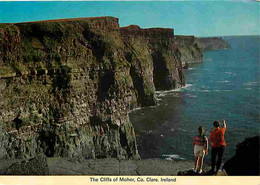Irlande - Clare - The Cliffs Of Moher - Falaises - Voir Timbre - CPM - Voir Scans Recto-Verso - Clare