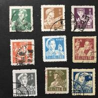 ◆◆◆CHINA 1955-56  Miner , Series Complete, SC#273- 281 , USED   JP134 - Usati