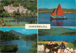 Irlande - Galway - Connemara - Multivues - Anes - Bateaux - Châteaux - Ireland - CPM - Voir Scans Recto-Verso - Galway
