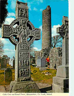 Irlande - Louth - Celtic Cross And Round Tower , Monasterboice - Culture Celte - Voir Timbre Animaux Belette - Ireland - - Louth