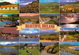 Irlande - Multivues - Attelage De Chevaux - Foins - Carte Neuve - Ireland - CPM - Voir Scans Recto-Verso - Otros