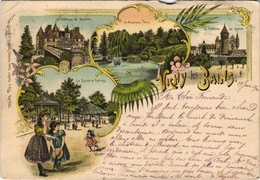CPA VICHY - LITHO (125518) - Vichy
