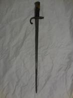 BAIONNETTE  GRAS DE GARDE FORESTIER  SF - Knives/Swords