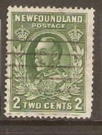 Newfoundland  1932 SG 223 2c Green    Fine Used - 1908-1947