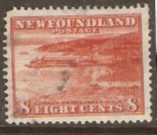 Newfoundland  1932 SG 227   8c     Fine Used - 1908-1947