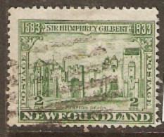 Newfoundland  1933 SG 237  2c  Gilbert     Fine Used - 1908-1947