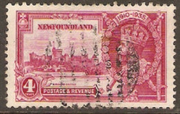 Newfoundland  1935 SG 250   4c  Silver Jubilee     Fine Used - 1908-1947