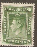 Newfoundland  1941  SG 277  2c Perf 12,1/2   Fine Used - 1908-1947