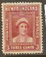 Newfoundland  1941  SG 278  3c Perf 12,1/2   Fine Used - 1908-1947